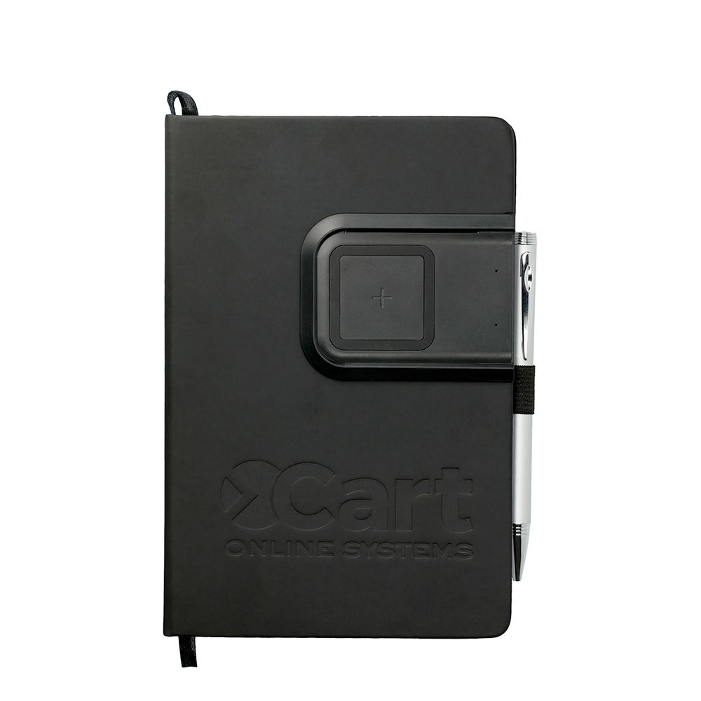 Ion Charging Pad bound Journalbook - Personalization Available