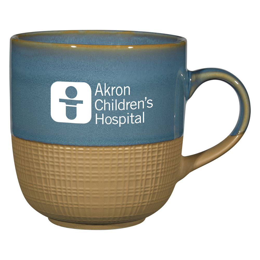 Woven Accent Mug 15 Oz. - Personalization Available