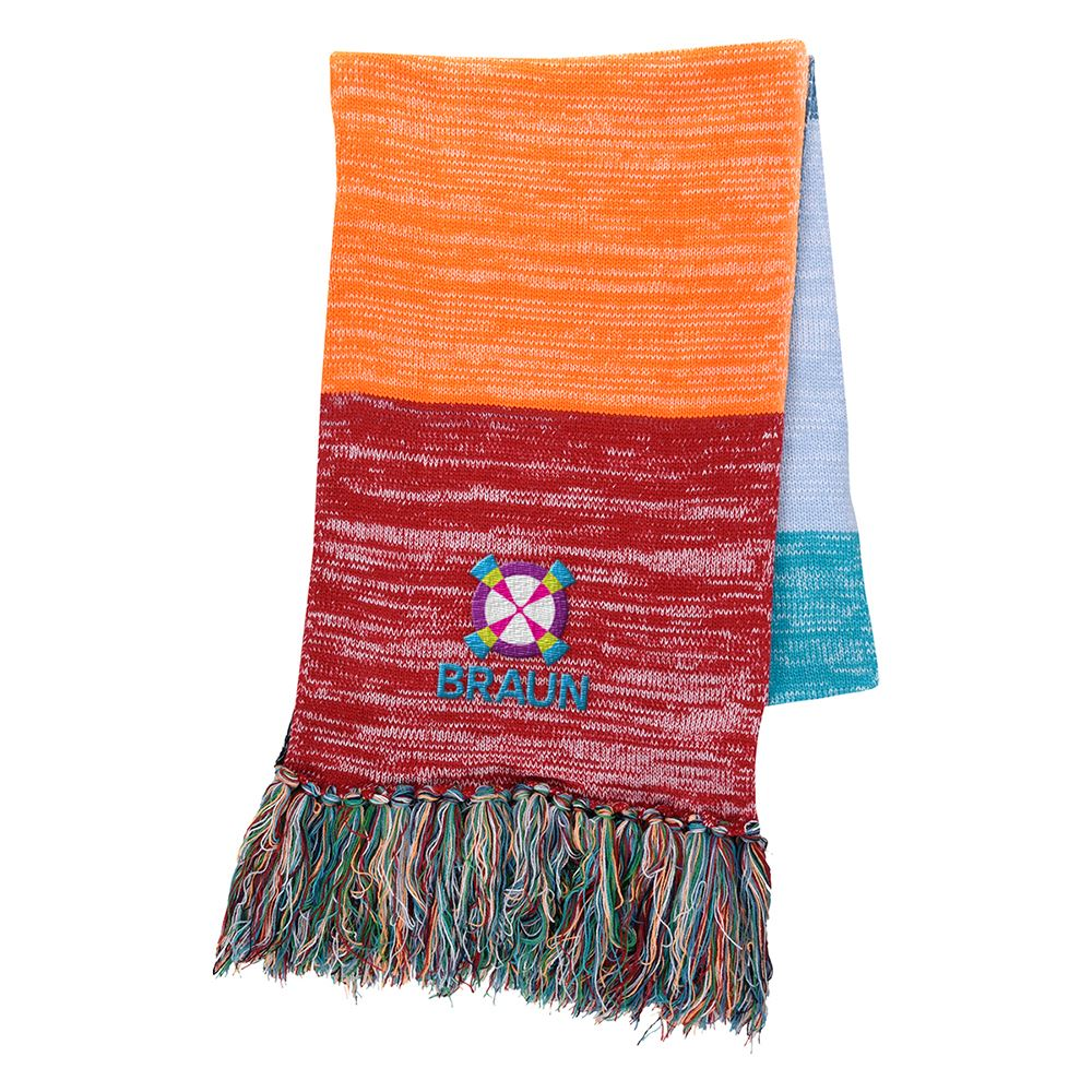 Aura Fringed Scarf- Personalization Available