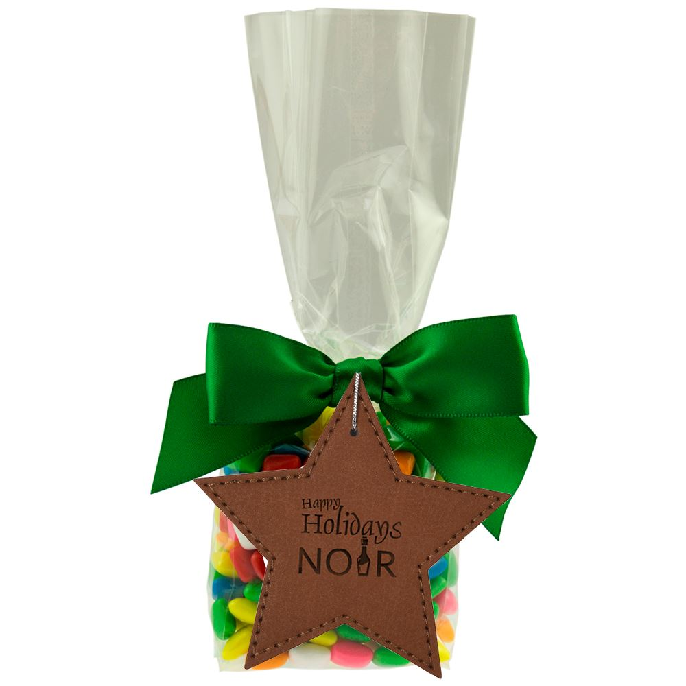 Mug Stuffer With Leatherette Ornament - Personalization Available