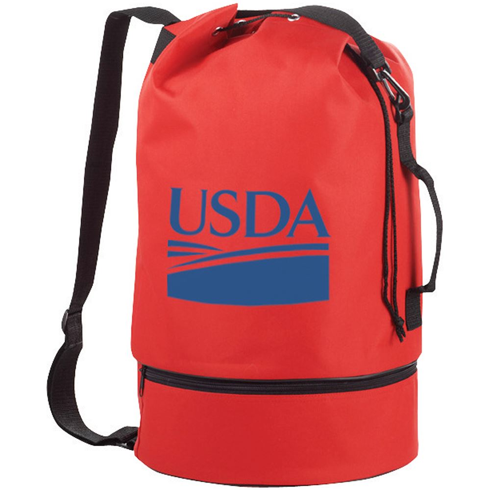 Sailor Drawstring Duffel Sling Bag - Personalization Available