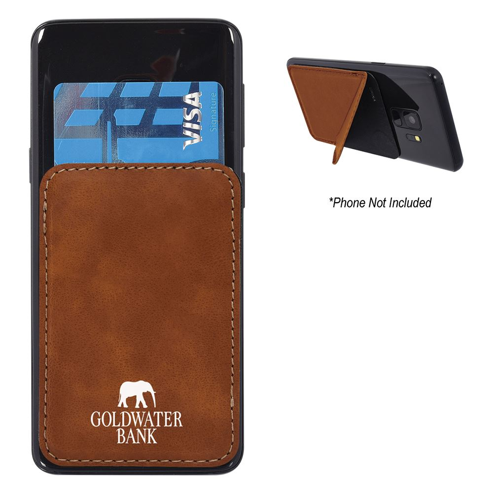Kickstand Phone Wallet - Personalization Available