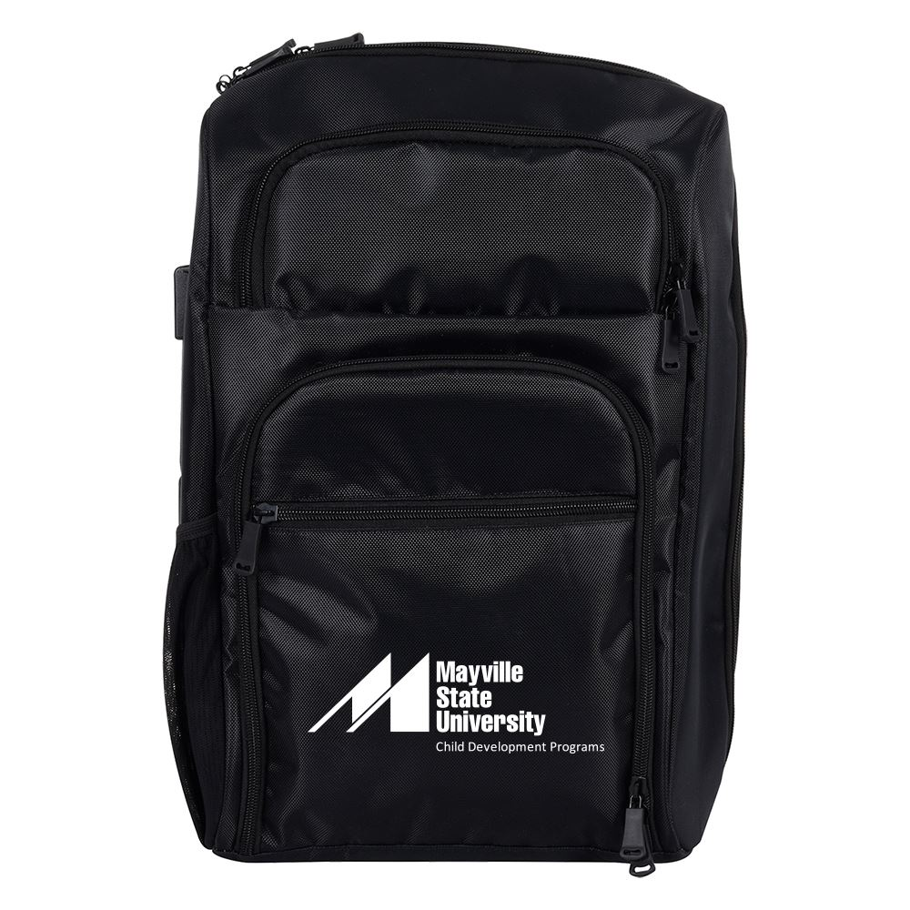 Black RFID Laptop Backpack & Briefcase - Personalization Available