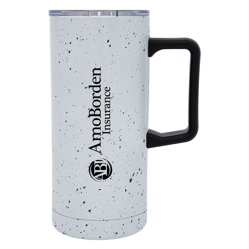 Speckled Stainless Steel Travel Tumbler 17-Oz. - Personalization Available