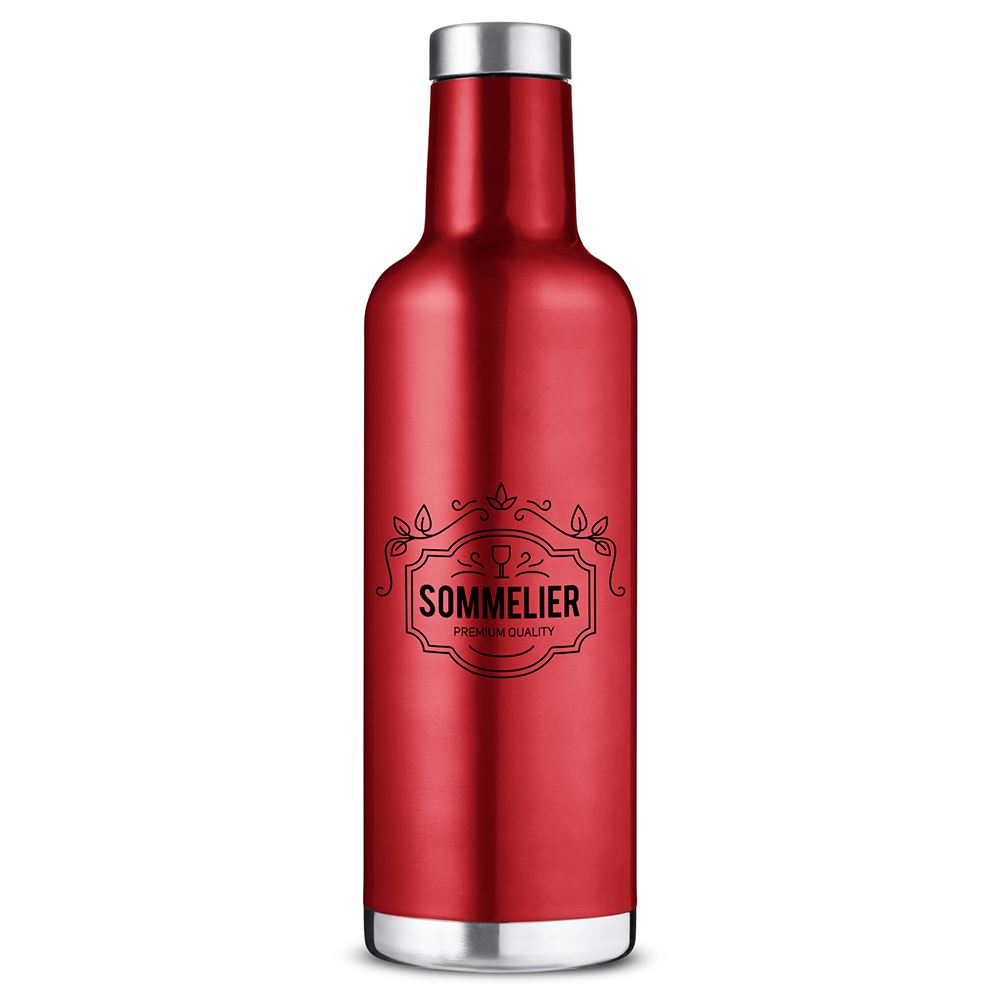 Alssace Vacuum Insulated Wine Bottle 25-Oz. - Personalization Available
