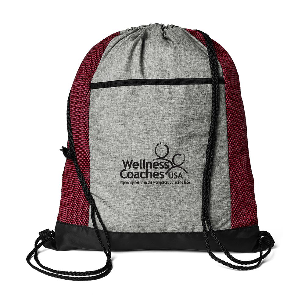 Aviva Drawstring Backpack - Personalization Available