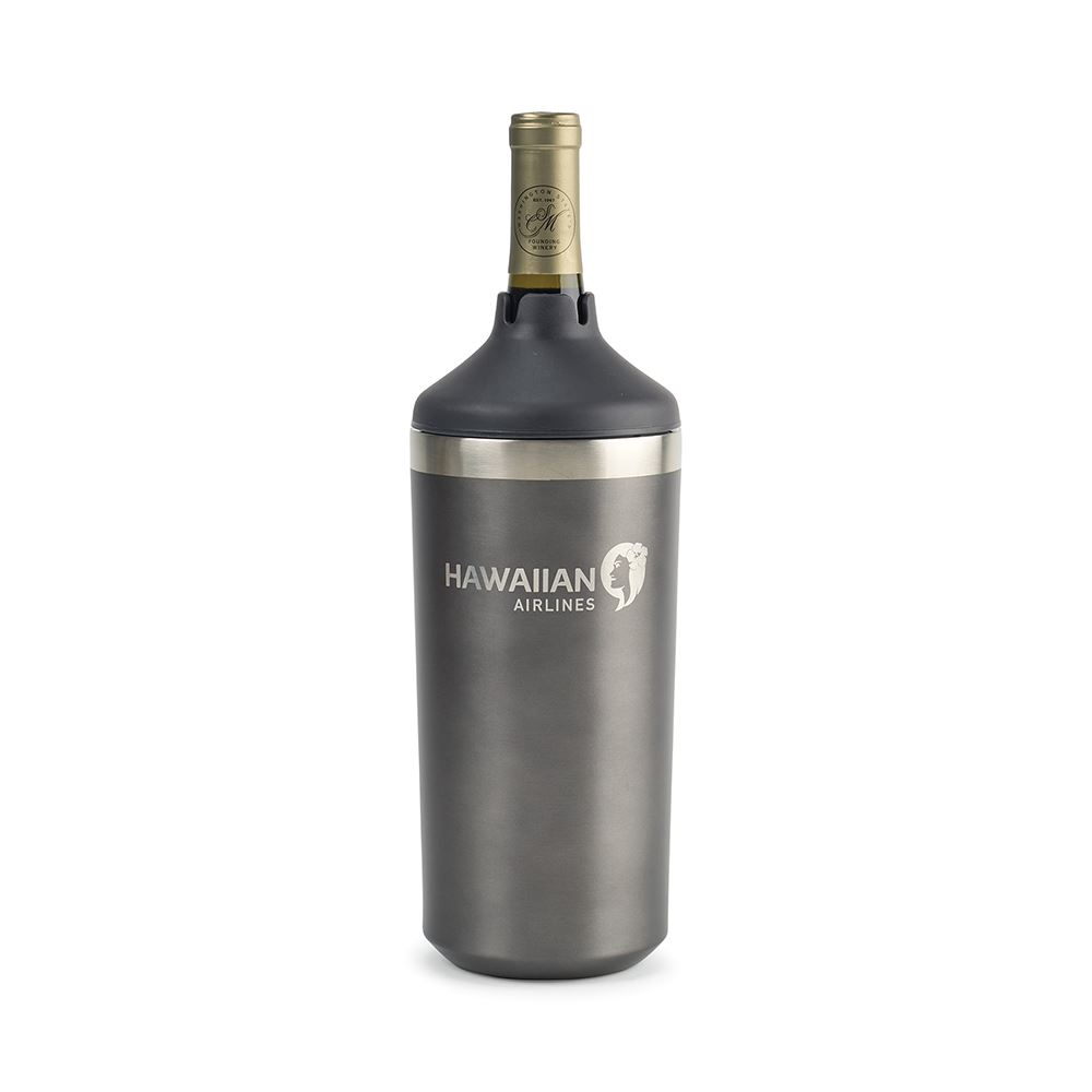 Aviana™ Chateau Double Wall Stainless Wine Bottle - Personalization Available