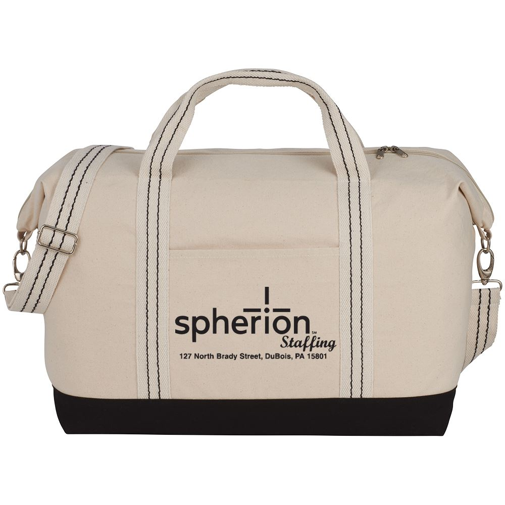 Topsail Cotton Canvas Duffel 12-Oz - Personalization Available