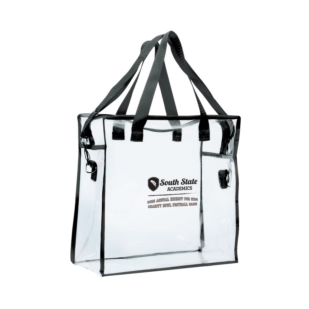 Clear Stadium Bag - Personalization Available