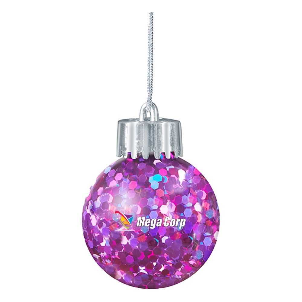 Full Color Confetti Ornament For Christmas Decoration - Personalization Available