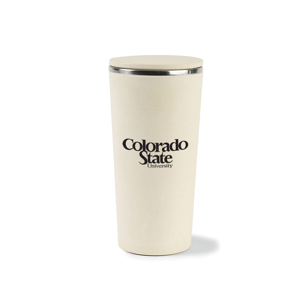 Gaia Bamboo Fiber With Stainless Steel Tumbler 13.5 Oz.