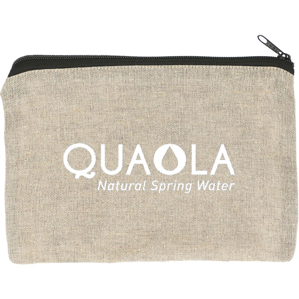 Recycled Cotton Twill Pouch 5-Oz. - Personalization Available