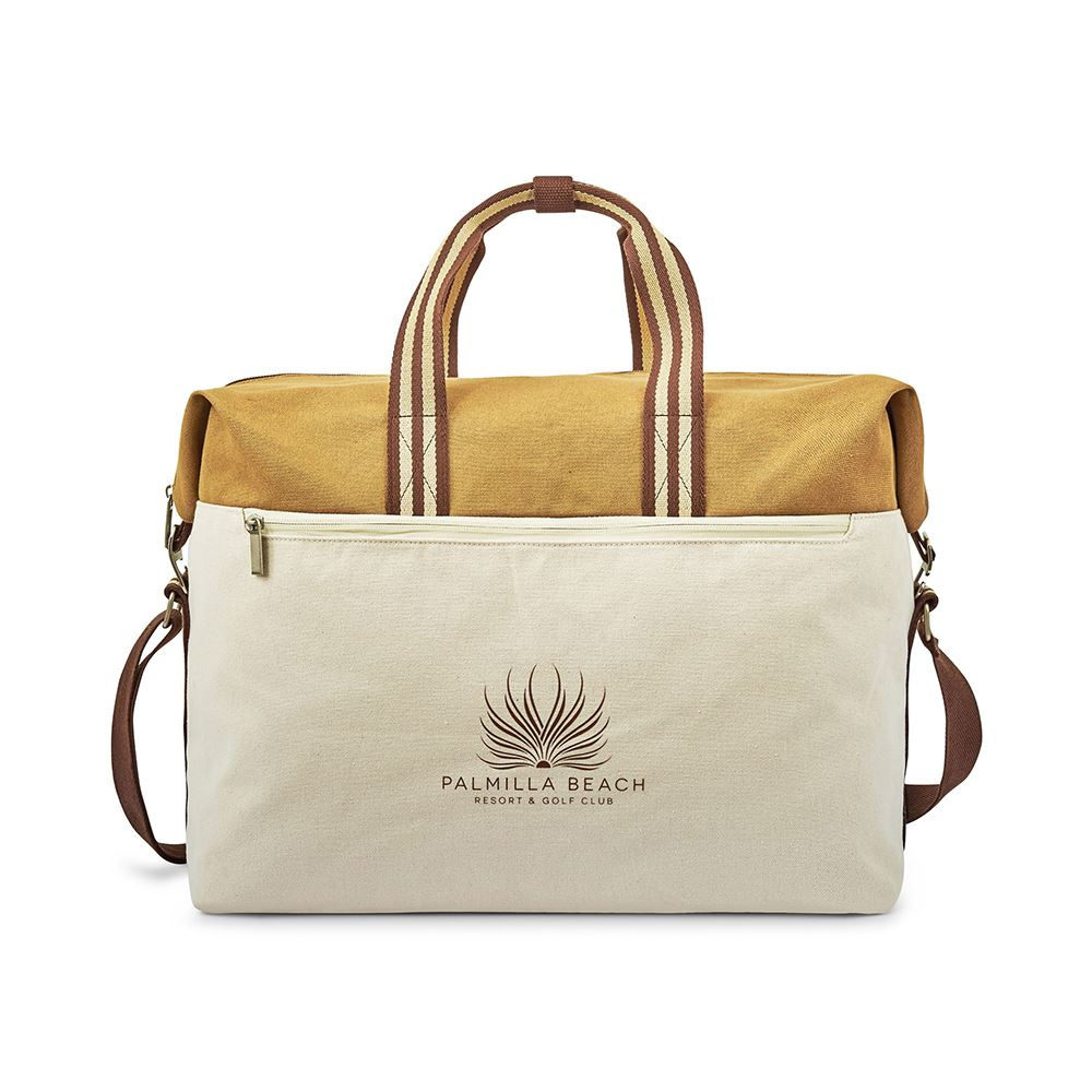 Charlie Cotton Weekender - Personalization Available