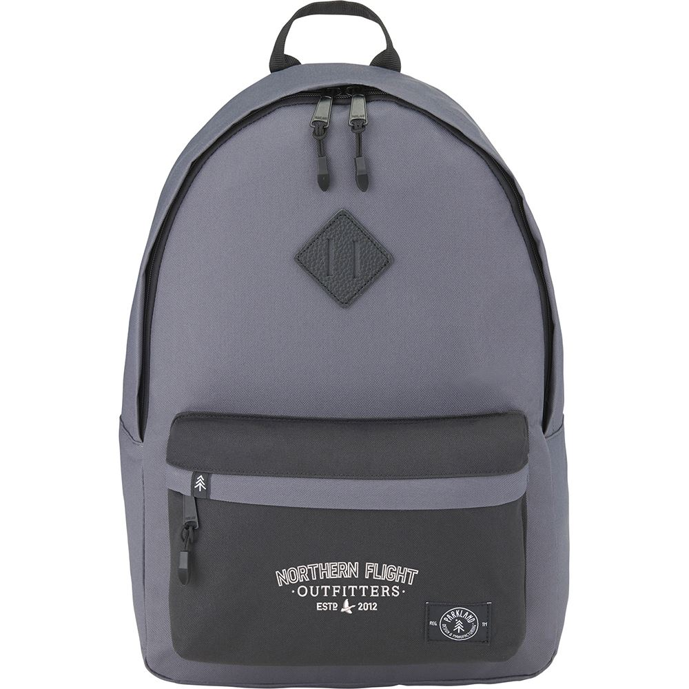 Parkland RPET Kingston Backpack - Personalization Available