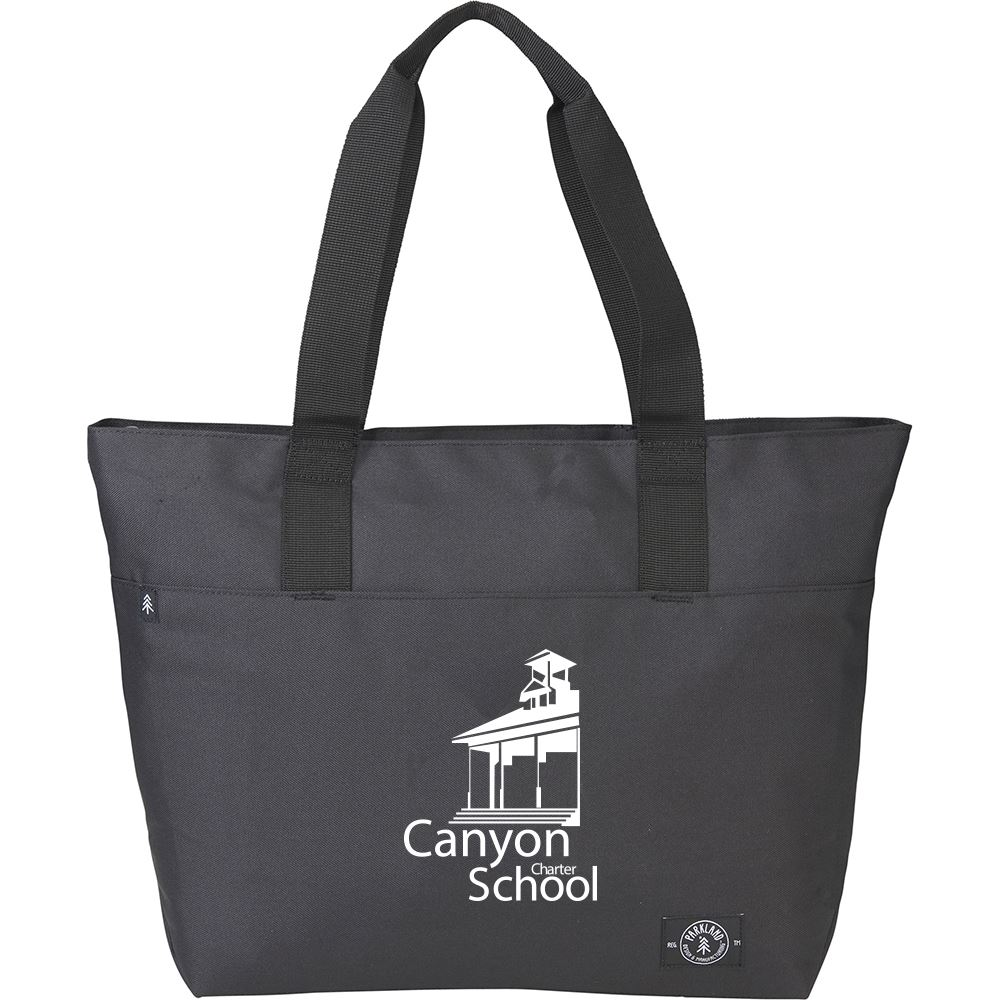 Parkland RPET Fairview Zippered Computer Tote - Personalization Available