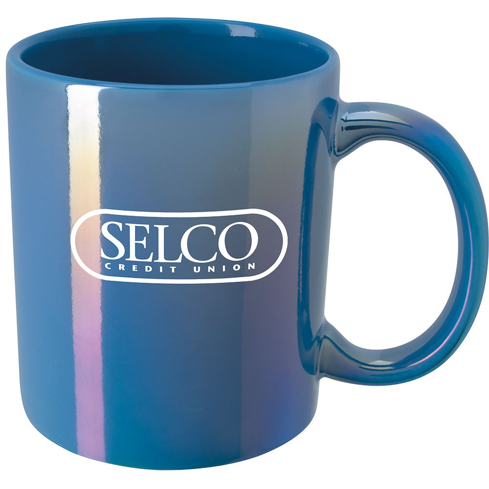 Vibrant Iridescent Mug 11-Oz. - Personalization Available