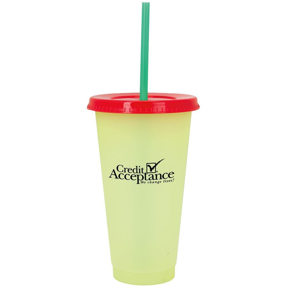 Ronnie Color Changing Tumbler 24-Oz. - Personalization Available