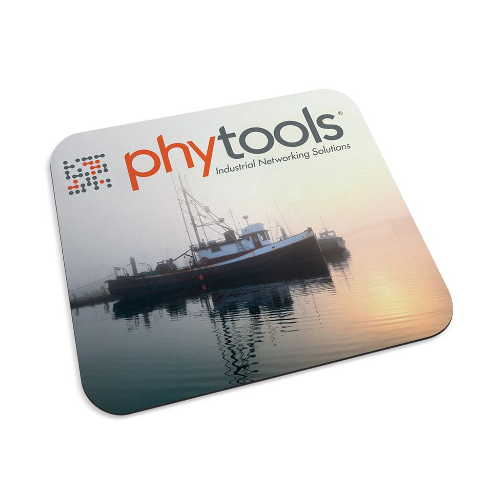 Recycled Mouse Mat® with Antimicrobial Additive- Full Color Personalization Available