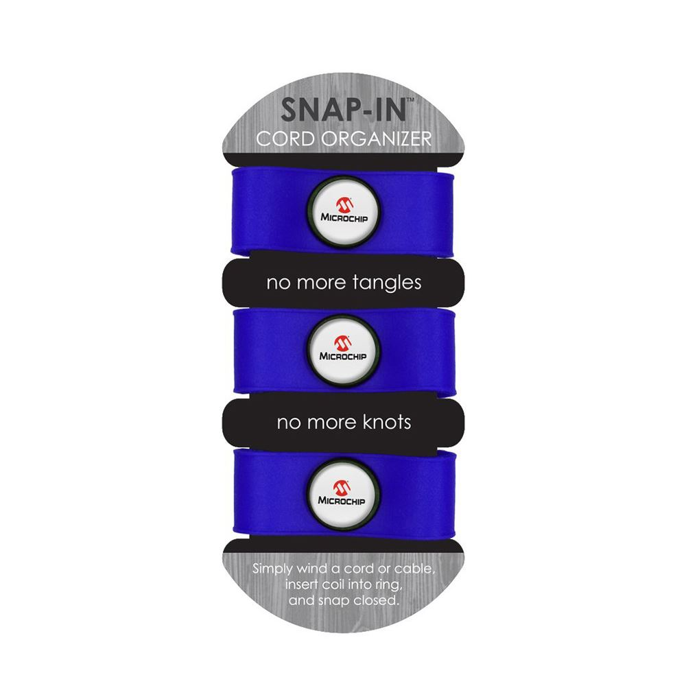 Snap-IN™ Cord Organizer 3-Pack - Full Color Personalization Available