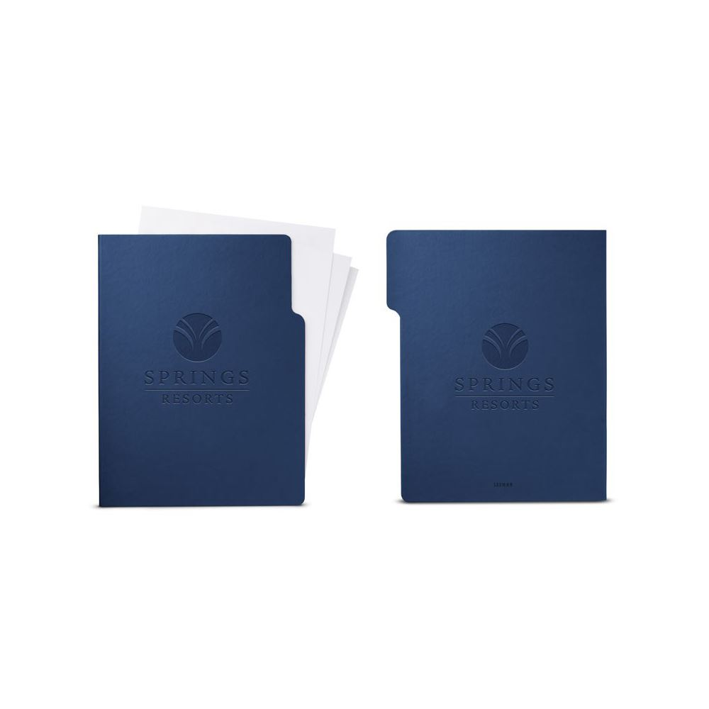 Tuscany Letter Size File Folder - Personalization Available