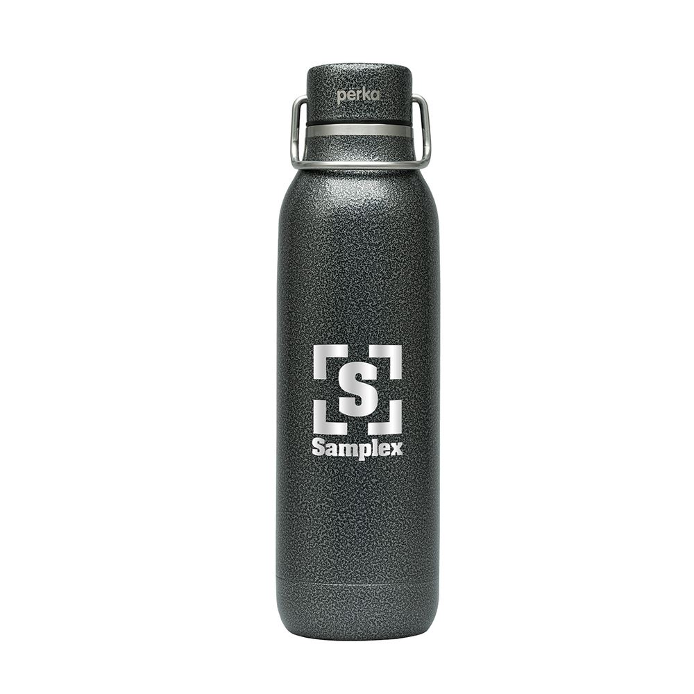 Perka Dashing Double Wall Stainless Steel Bottle 20 oz. - Personalization Available