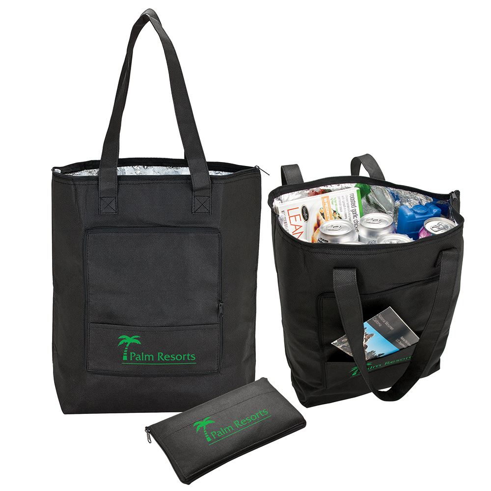 Barbuda Folding Cooler Tote Bag - Personalization Available