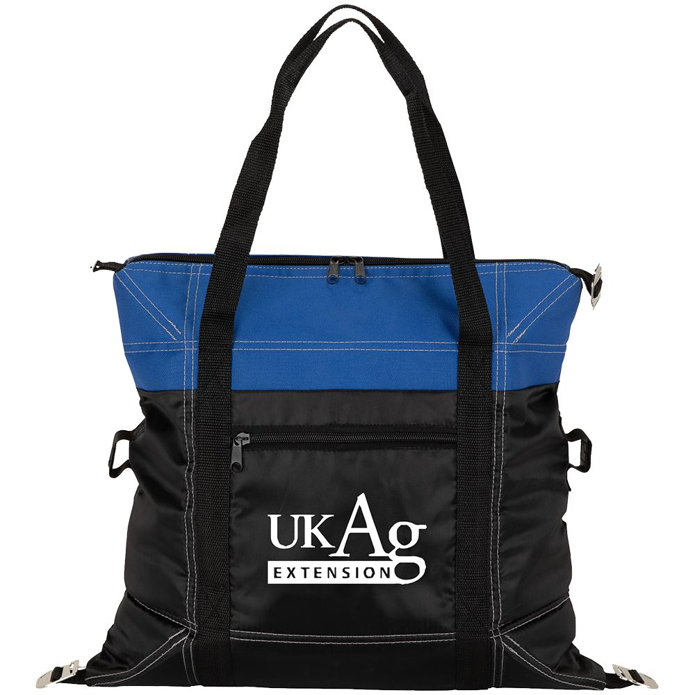 Greeley Two-Tone Cooler Tote Bag - Personalization Available