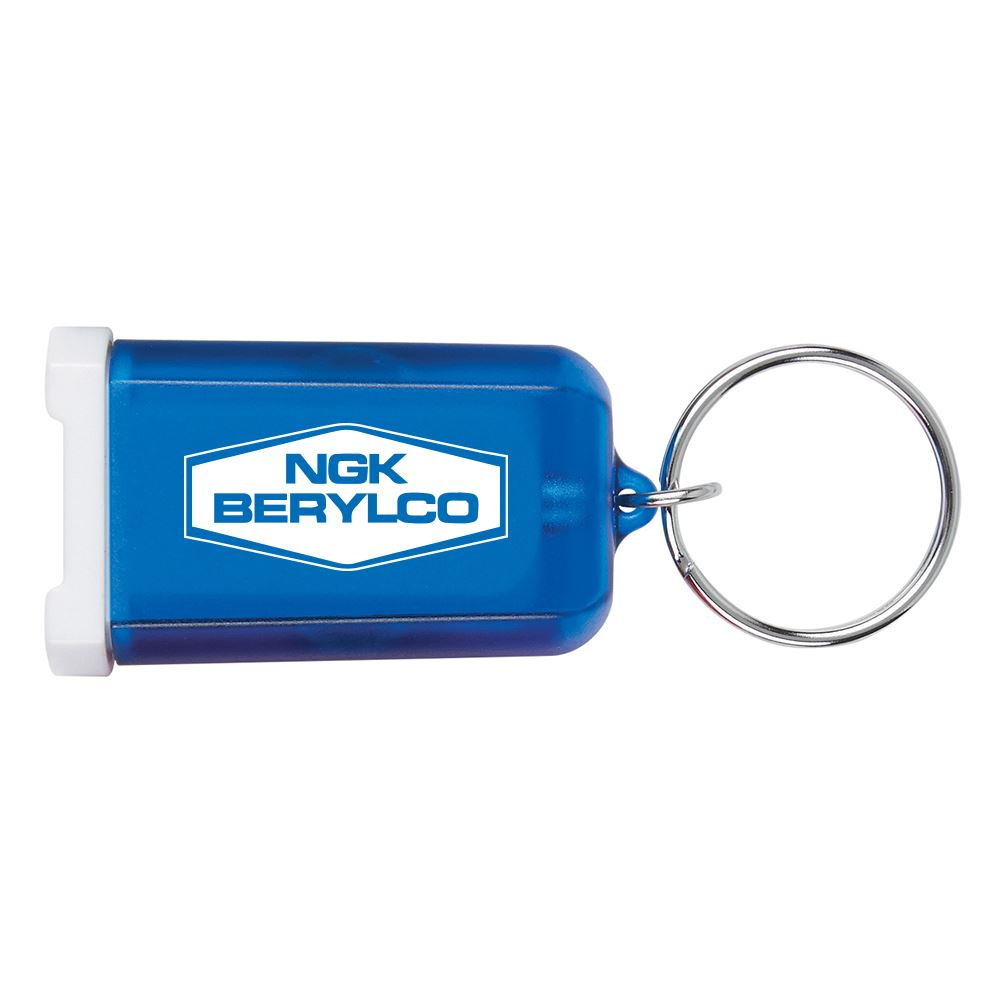 Mini USB Car Charger Key Chain - Personalization Available