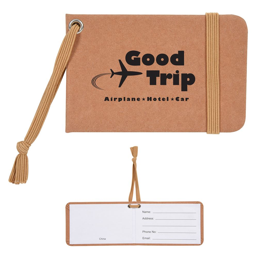 Kraft Paper Luggage Tag - Personalization Available
