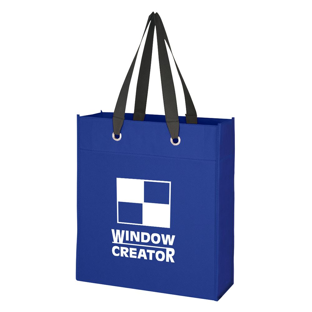 Non-Woven Grommet Tote Bag - Personalization Available