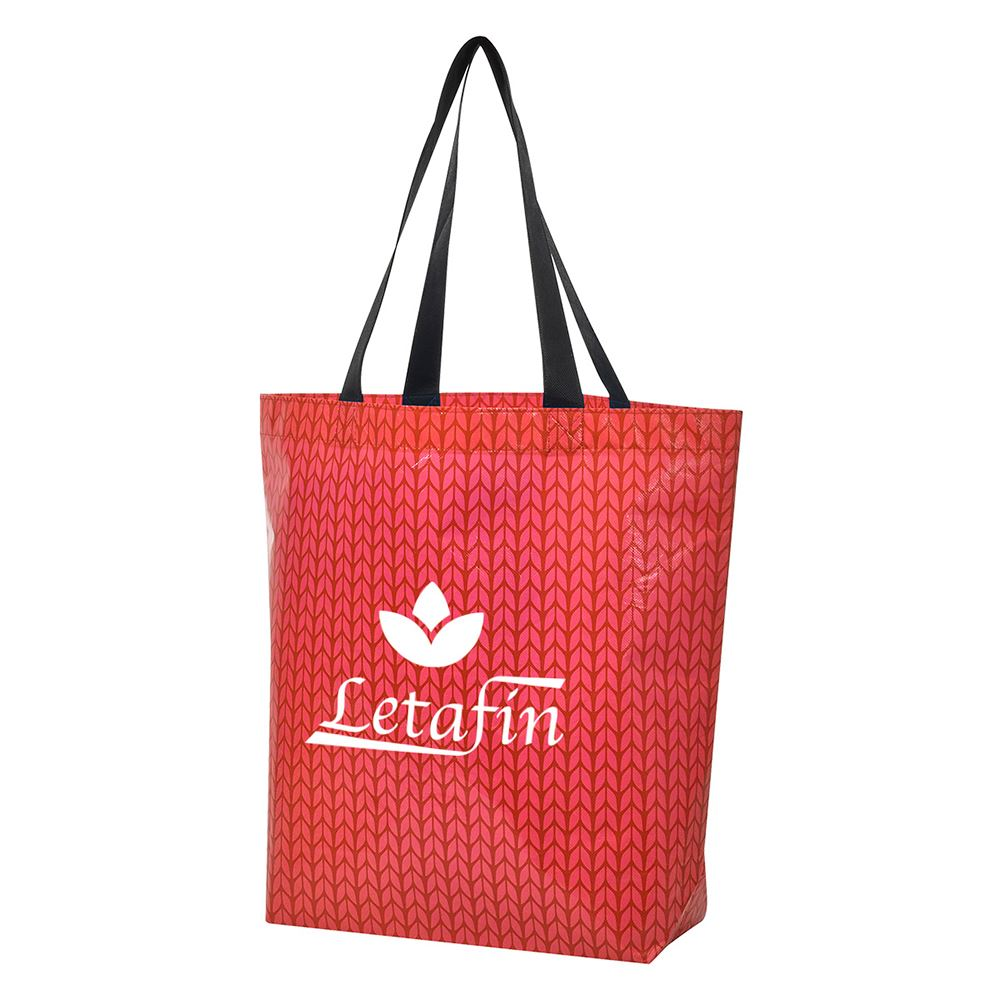 Caprice Laminated Non-Woven Tote Bag - Personalization Available
