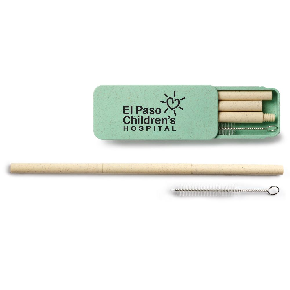 Wheat Straw Box Set - Personalization Available
