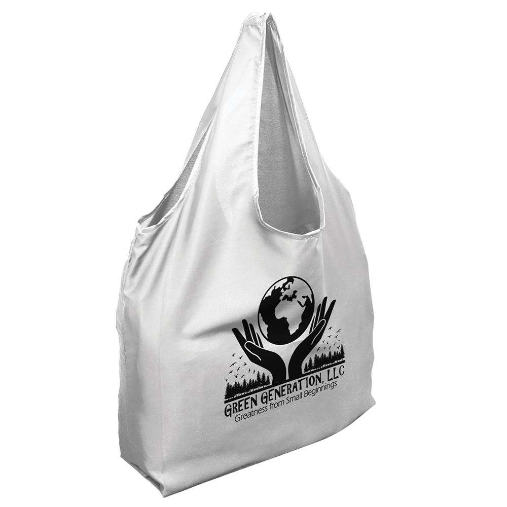 Packable RPET Shopper Tote