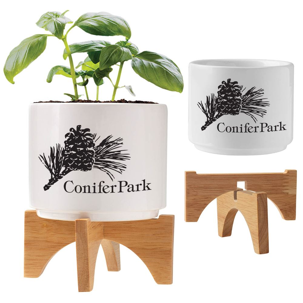 Ceramic Planter Set - Personalization Available