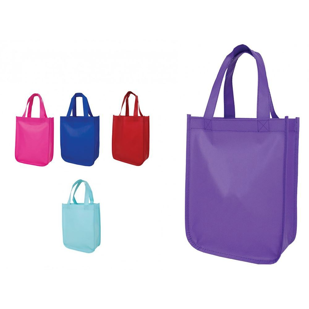 Cosmo Small Matte Laminated Tote - Personalization Available
