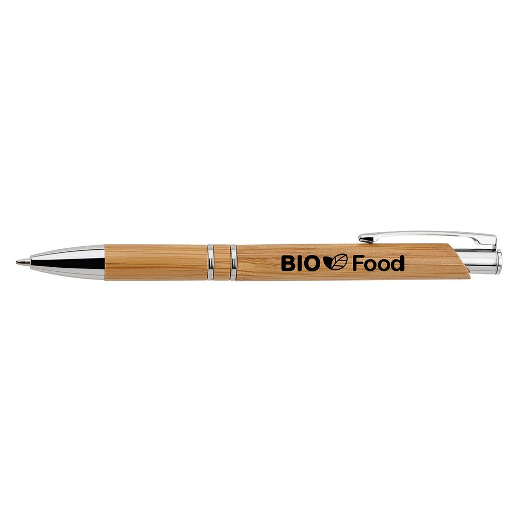 Ali Bamboo Ballpoint Pen - Personalization Available
