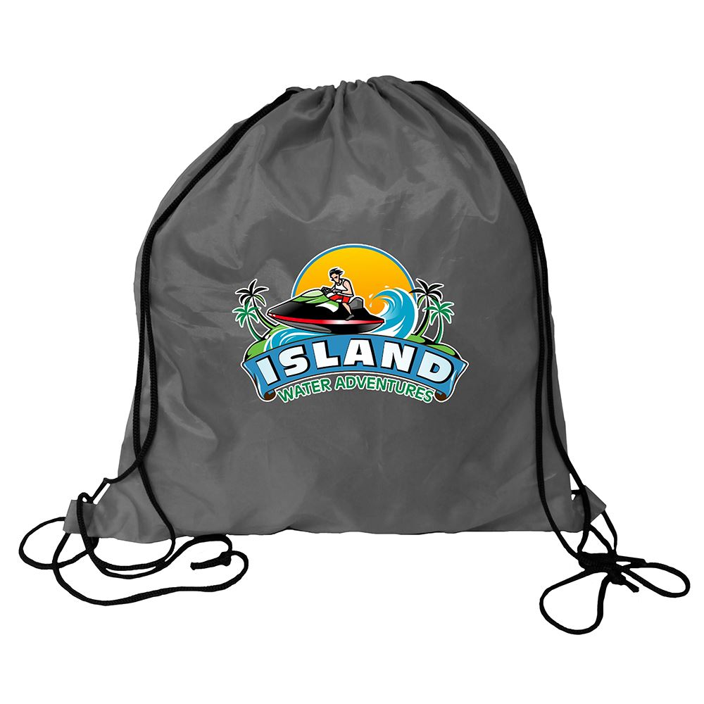 RPET Drawstring Backpack - Full Color Personalization Available