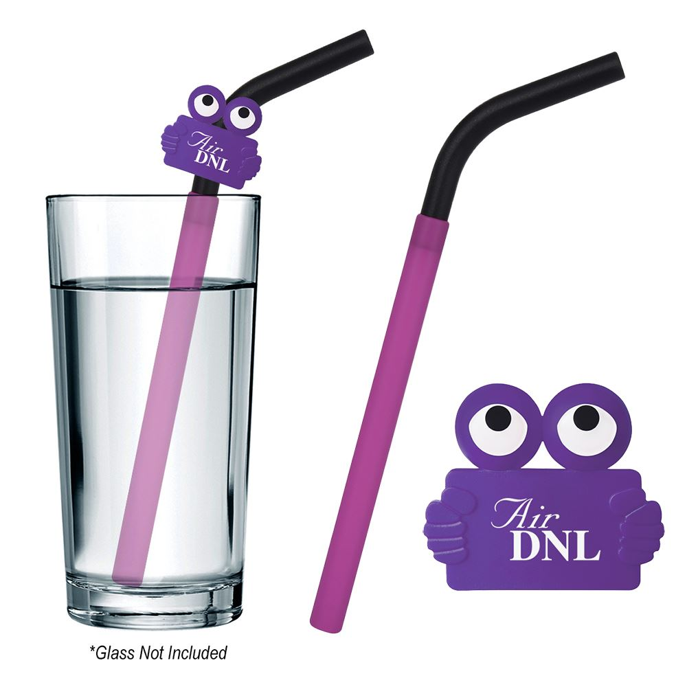 GreenPaxx Cool Straw With Clipster - Personalization Available