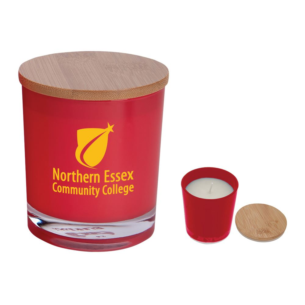 Bamboo Soy Candle - Personalization Available