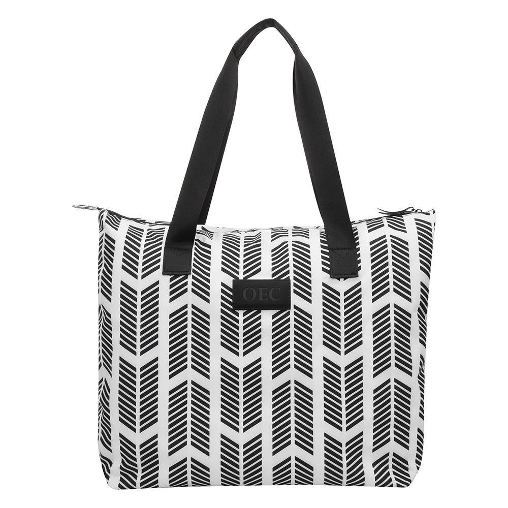 Chevron Chic Tote Bag - Personalization Available
