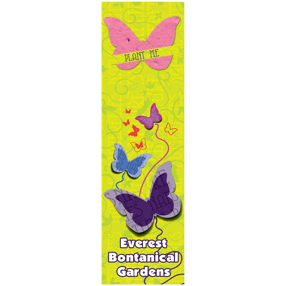 Butterfly Seed Shape Bookmark