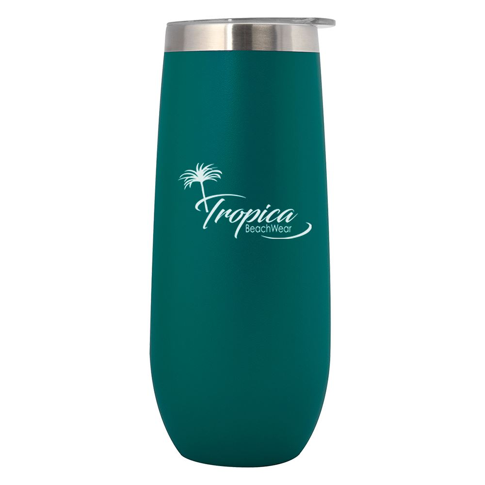 Korabel Stemless Champagne Flute - 14 oz. - Personalization Available