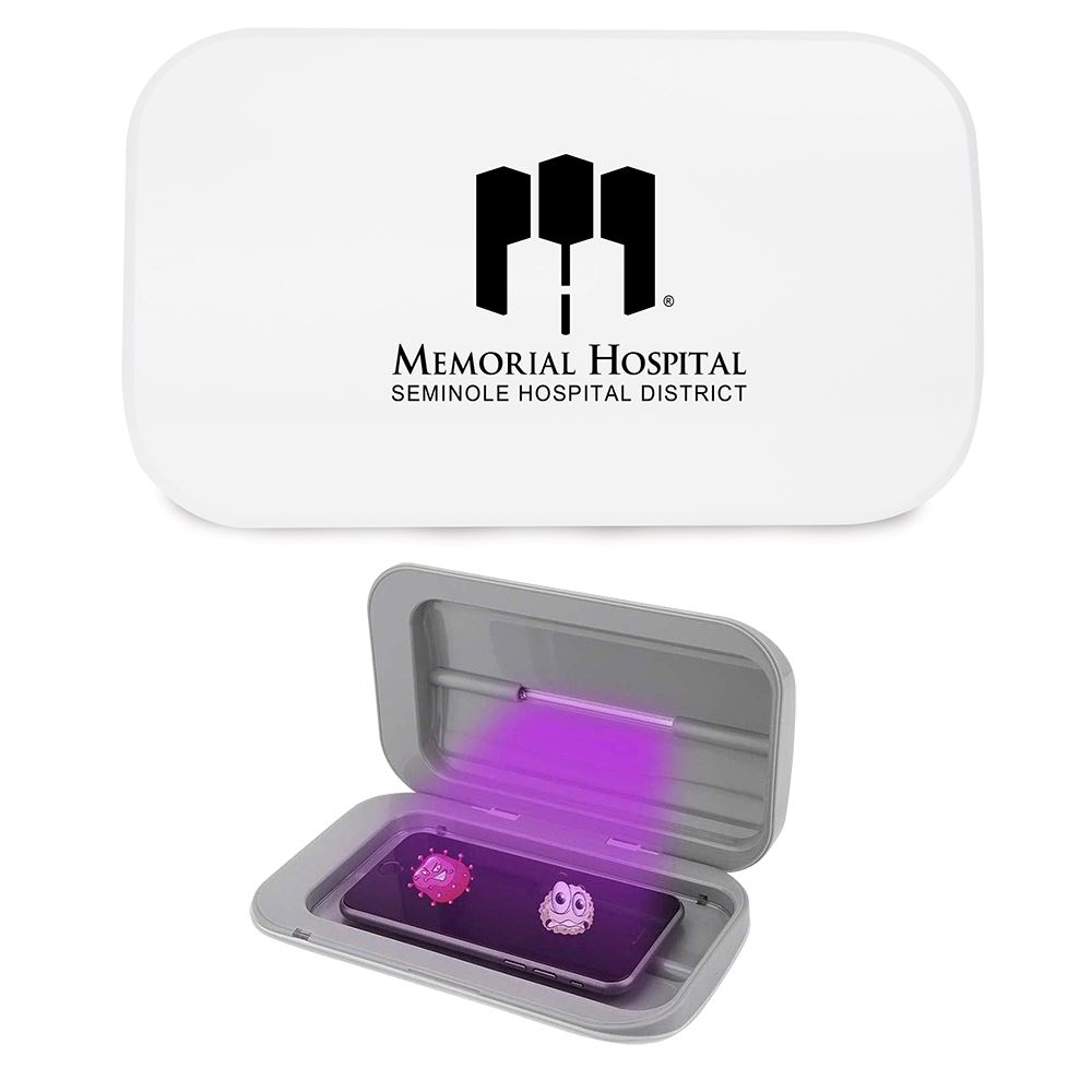 UV Phone Sanitizer Sterilization Box - Personalization Available