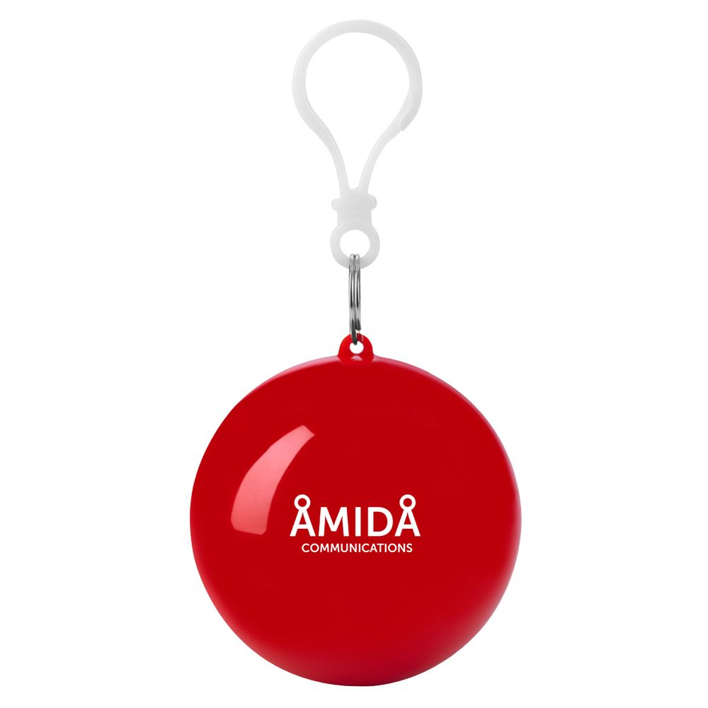 Poncho Ball Keychain - Personalization Available