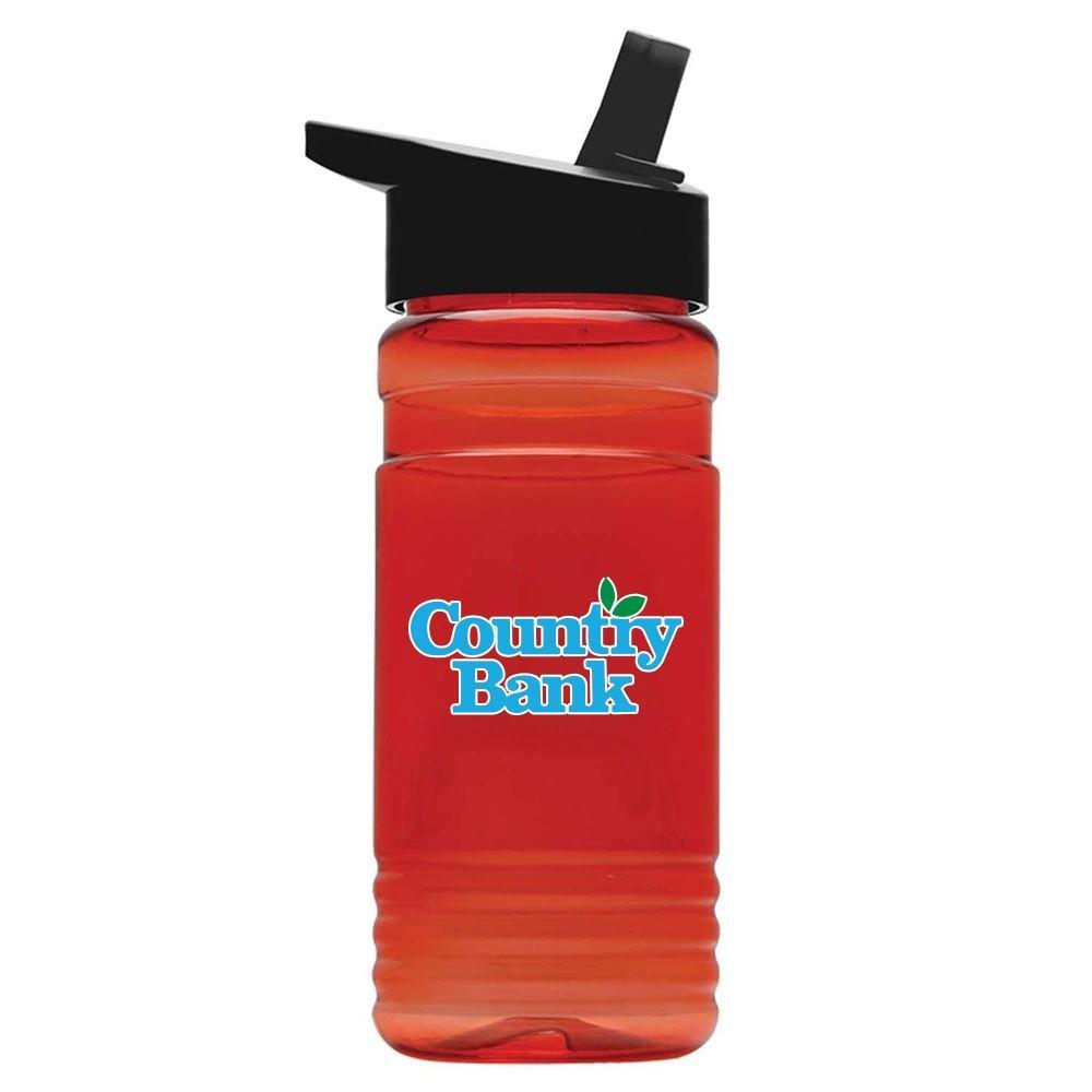 Tritan Sport Bottle Flip Straw Lid - 20 oz. - Personalization Available