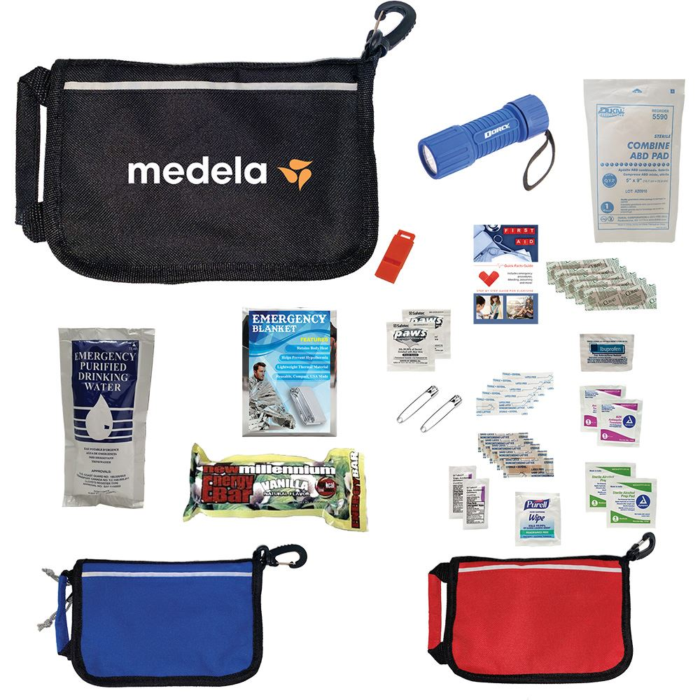 Deluxe Disaster Prep Emergency Safety Kit - Personalization Available