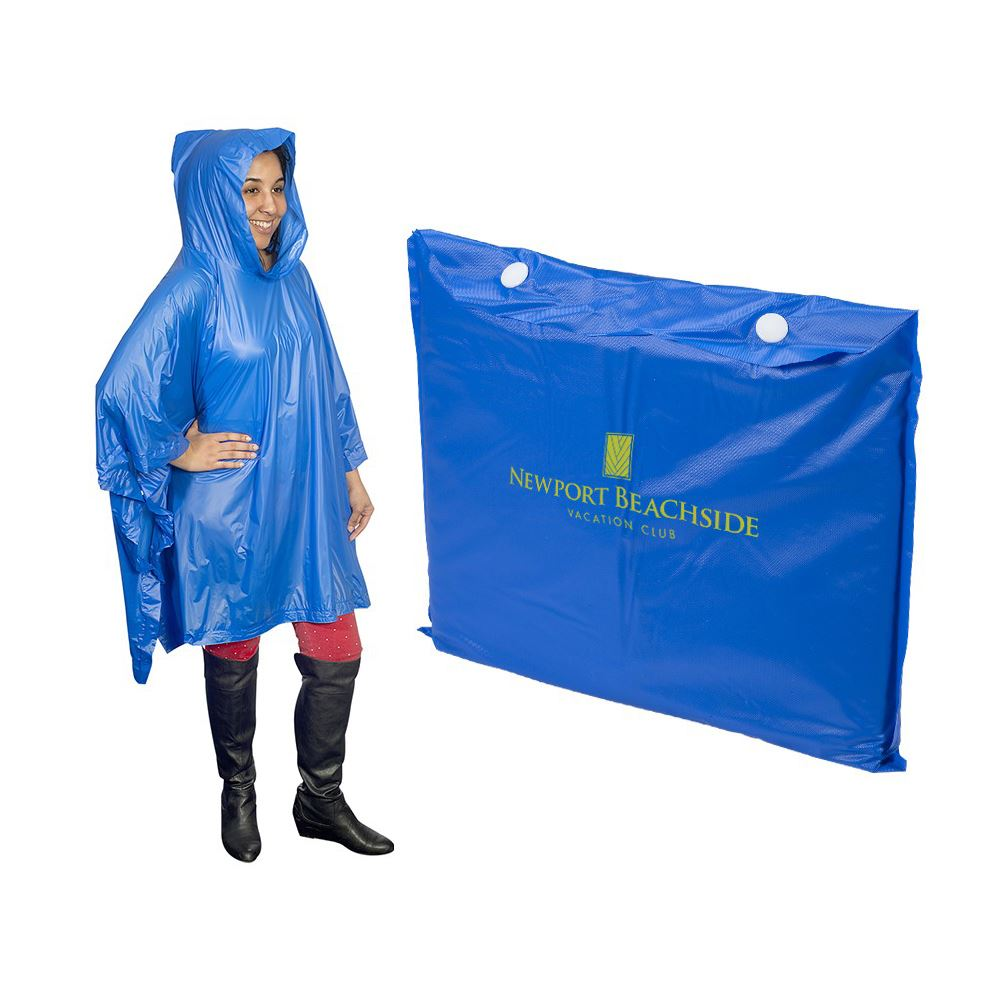 Heavy Duty Poncho - Personalization Available