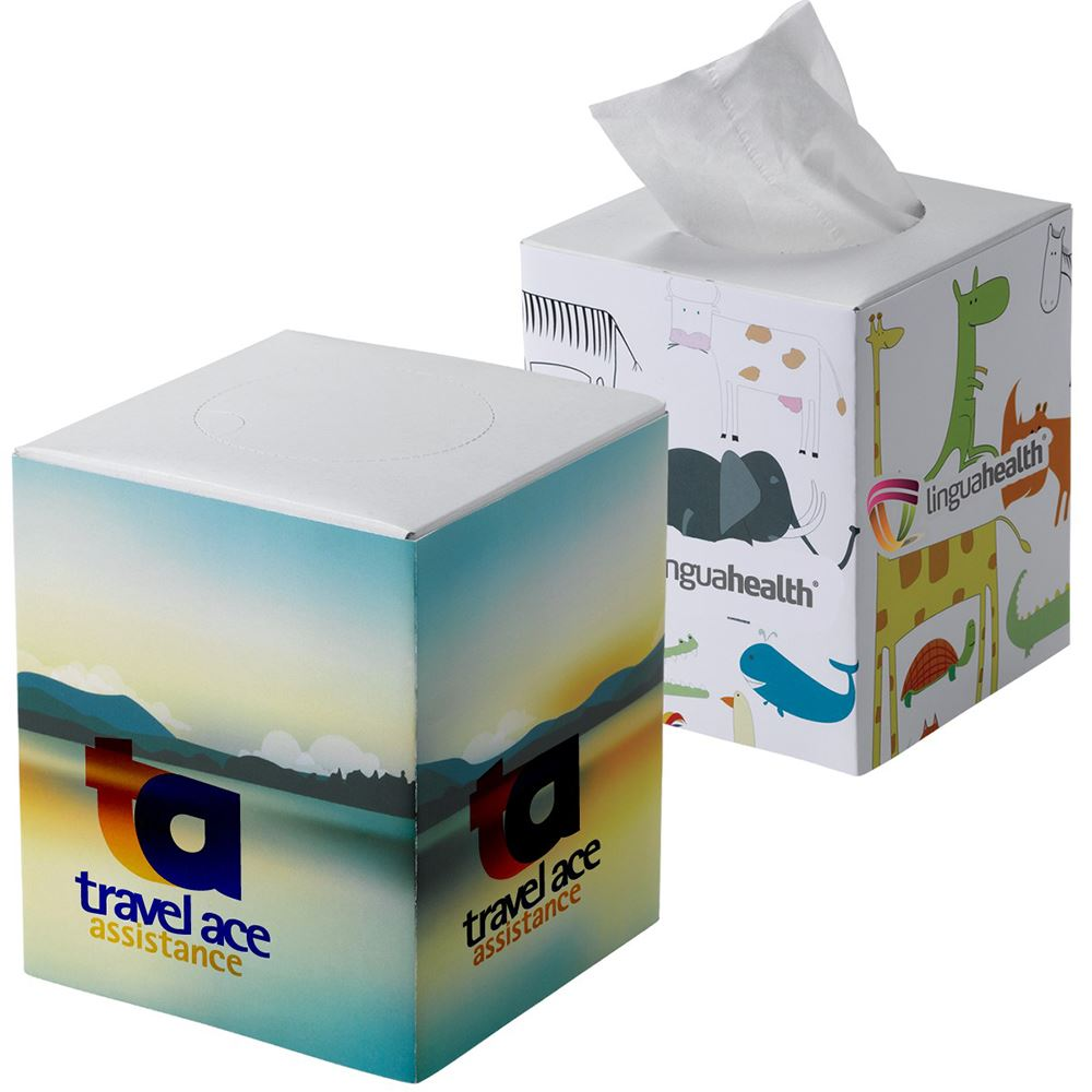 Cube Tissue Box - Personalization Available