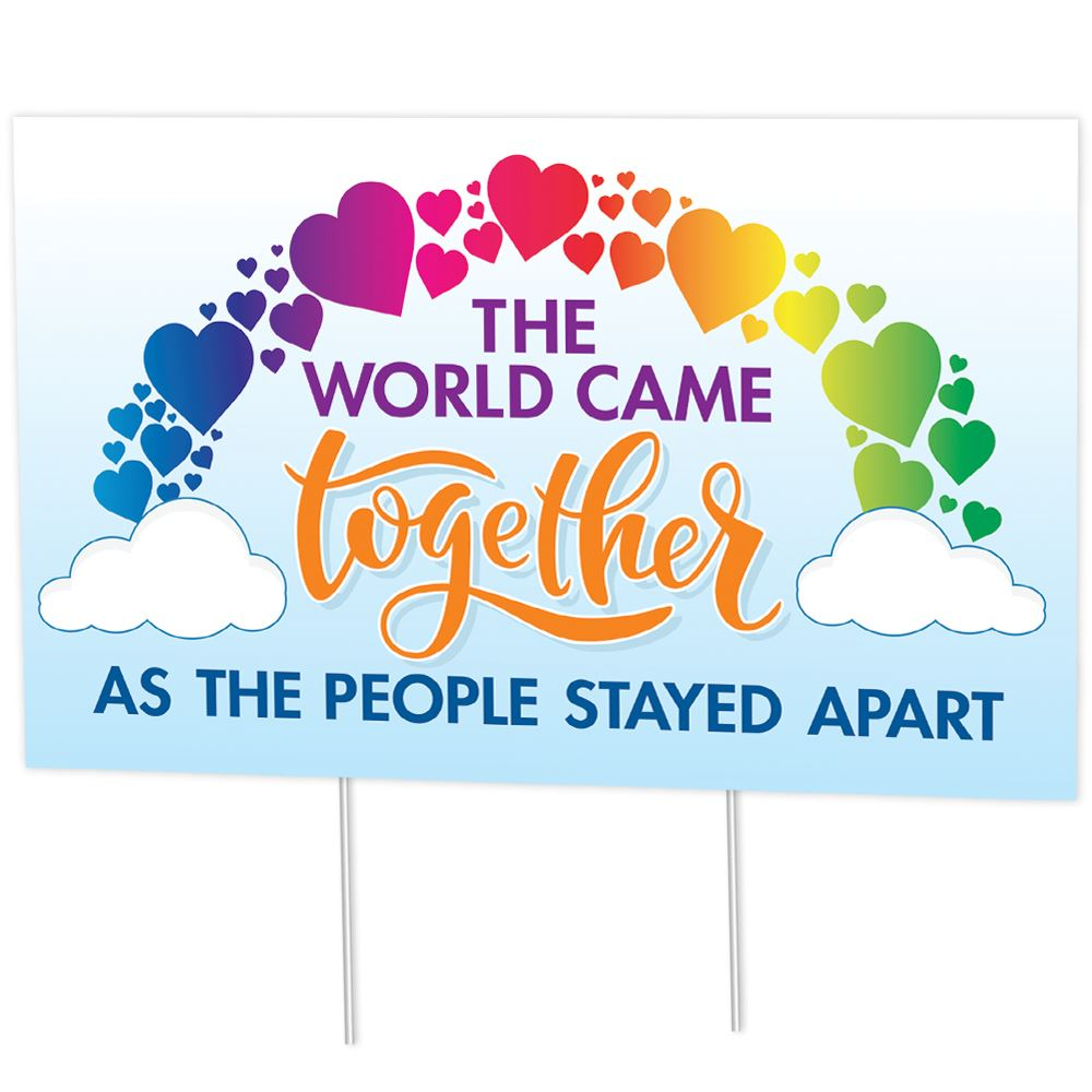 The World Came Together As The People Stayed Apart 18