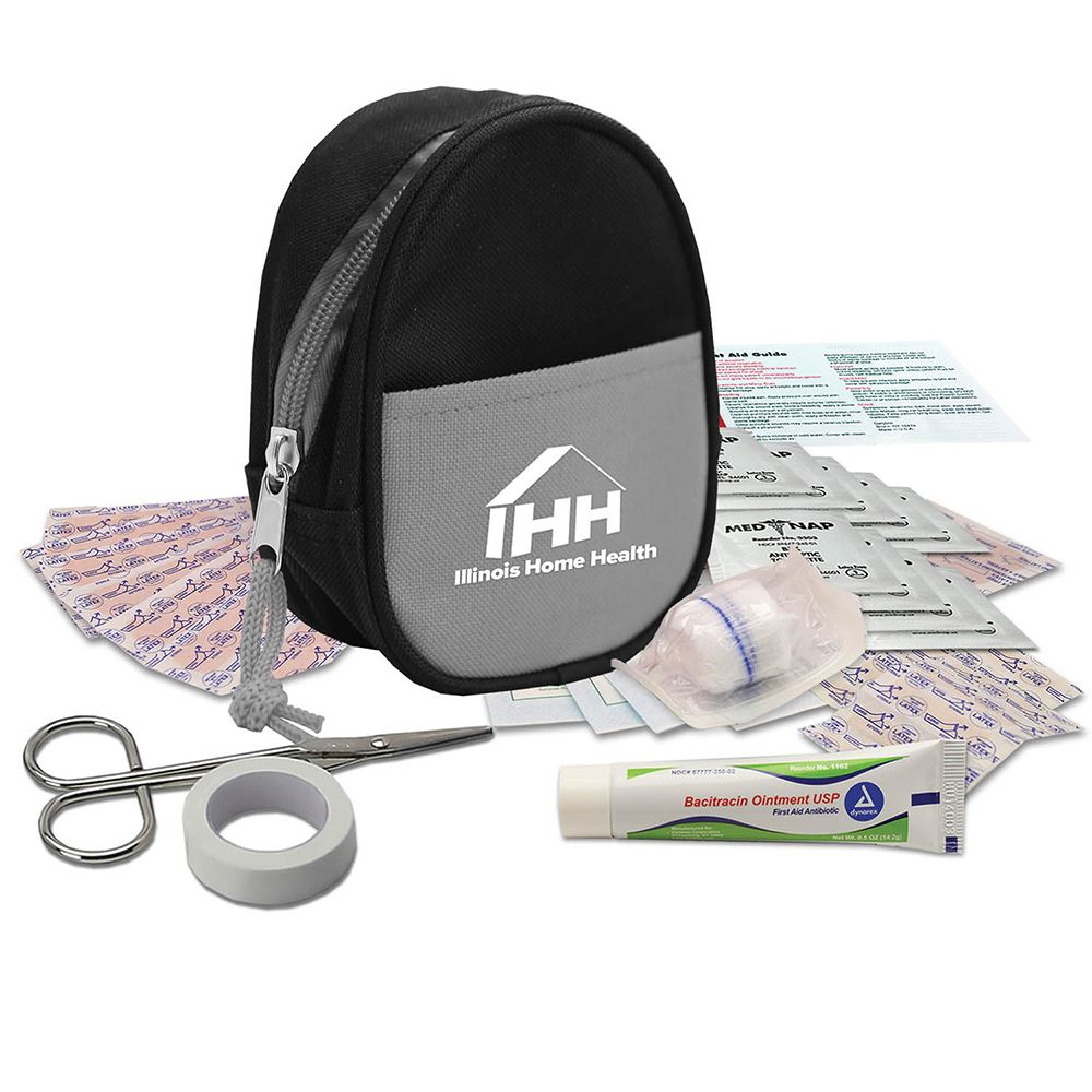 Zipper Tote First Aid Kit - Personalization Available